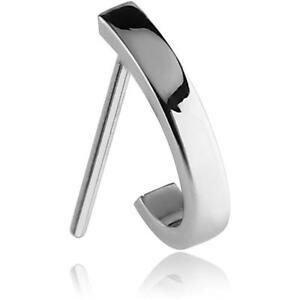 316l Surgical Steel Nose Stud Ring Screw L Bend Nose Hugger 20g Ebay