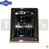 65-66 Mustang Floor Shifter Bezel Housing & Indicator - Automatic Transmission