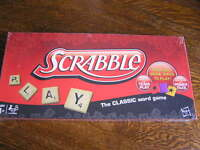 2012 Hasbro Scrabble The Classic Word Game For 2-4 Players Ages 8+nib