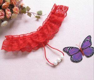Fashion-Women-Lace-V-string-Briefs-Panties-Thongs-G-string-Lingerie-Underwear-Pe