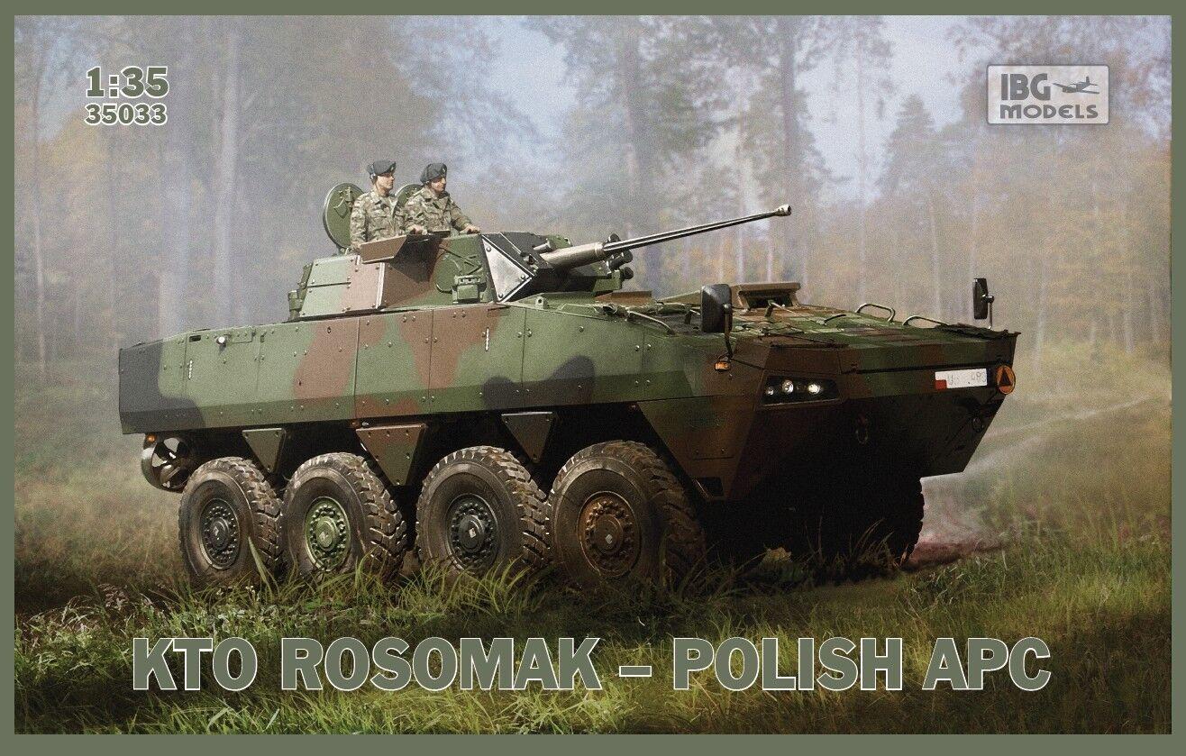 online barato Ibg 1 35 Kto Rosomak Polacco APC    35033  solo cómpralo