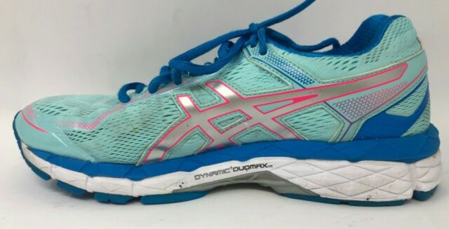 Asics Women's Running Shoes GT 1000 Size 7.5 T6B3N Light Blue Dynamc Duomax