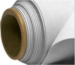 """WHITE Curtain Lining Fabric Material sold by the metre 54/"""" wide 137cm"""