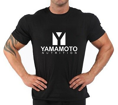 "T-Shirt Bodybuilding Fitness Palestra /""Yamamoto Nutrition 2/"""