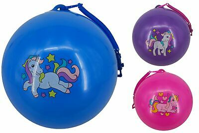 Unicorn Fruity Smelly Scented Ball With Keychain Inflatable Bouncy Kid Party Toy