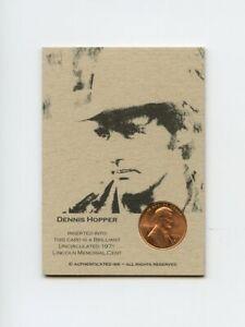#LK.1548 BRETT FAVRE 1995 Lincoln Penny Insert Trade Card RARE