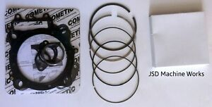 06 Honda TRX450R TRX 450R 98mm Big Bore CP Piston Rings Only /& Cometic Gasket