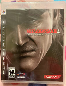 Metal Gear Solid 4: Guns of the Patriots (PS3, 2008) *FACTORY SEALED BLACK LABEL