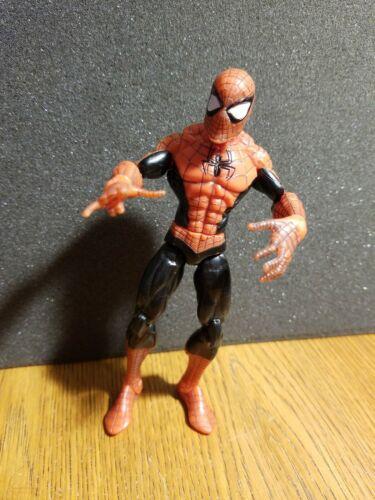 2008 Hasbro Spiderman Classics Web Sticking Spiderman Black Version Loose