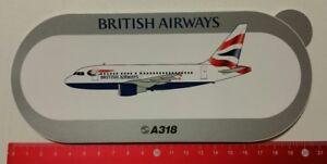 Decal/Sticker: Airbus A318/British Airways (030317109)