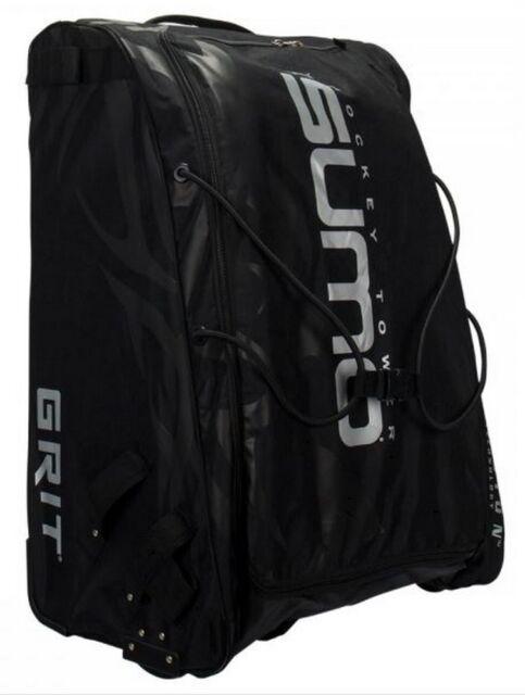 Grit Inc Gt4 Sumo Hockey Goalie Tower 36 Wheeled Equipment Bag