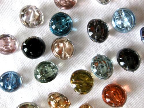 color diferentes colores 15 botones perlenförmig 12mm seleccionable k21