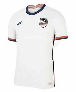Nike Men's 2020-21 USA Soccer Vapor Match Home Jersey White - XL
