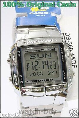 DB-360-1A  Men's CASIO Data Bank Watch Vintage Look