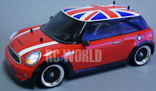Custom Tamiya 1/10 RC Car BMW MINI COOPER S  Drift  L.E.D Lights -Ready To Run-