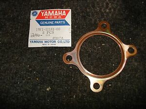 YAMAHA NOS OEM CYLINDER HEAD COPPER GASKET DT125 YZ125 DT YZ 125 2A6-1W1-11181-0