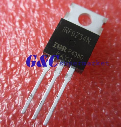 5PCS IRF9Z34N IR MOSFET P-CH 55V 19A TO-220AB NEW GOOD QUALITY T43