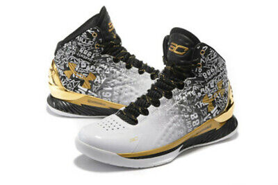 Men/'s Under Armour Curry 1 TRAINING Basketball Shoes Boots high top US7-12 T3