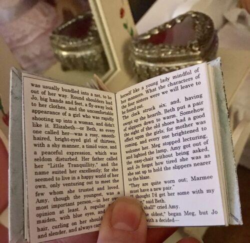 Little Women /& Anne of Green Gables miniature books for American Girl Samantha