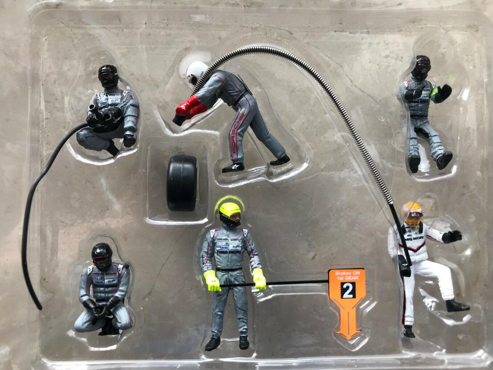 1 43 Porsche boxes Crew LMP1 for   2 6 Figure 24h Le Mans 2017 Spark 43AC011 nouveau  boutique en ligne
