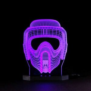 Scout-Trooper-Lamp-Star-Wars-Black-Series-Led-Light-3D-Illusion-Mask-Sith-Clone