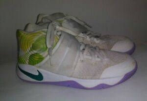 48135163231a Nike Kyrie 2 Easter White Lilac Bright Mango Youth 6Y Women s SZ 7 ...