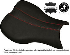 GRIP & CARBON RED DS ST CUSTOM FITS TRIUMPH DAYTONA 675 06-12 FRONT SEAT COVER