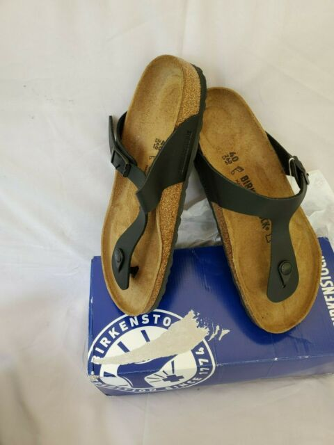 Birkenstock Gizeh Women's Sandal - Black NIB SIZE 9