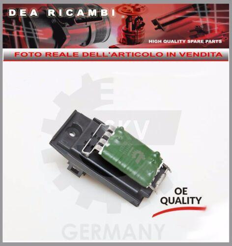 95R014 Resistenza Ventola Riscaldamento FORD FOCUS BERLINA e SW da  1998 /> 2004