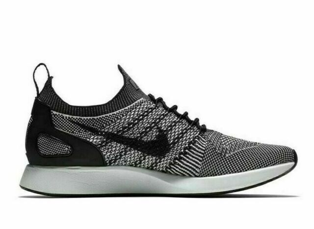 separation shoes ab16e e9a75 Mens Nike Air Zoom Mariah Flyknit Racer Running Shoes Black White 918264 015