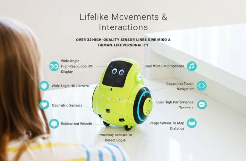 Goblin Green The Miko 2 Robot The Robot for Playful Learning