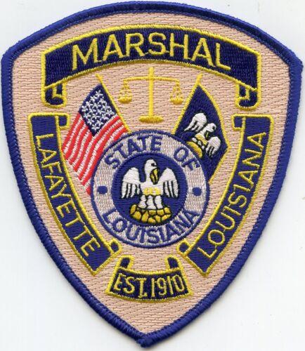 LAFAYETTE LOUISIANA LA MARSHAL POLICE PATCH