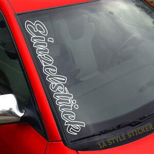 Einzelstueck-Aufkleber-Scheibe-Auto-Selfmade-Sticker-Tuning-i-love-my-car-276