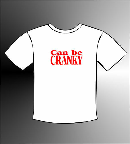 24 Months CAN BE CRANKY  Baby Babies Funny White T-Shirt Cute Lovely 3 months