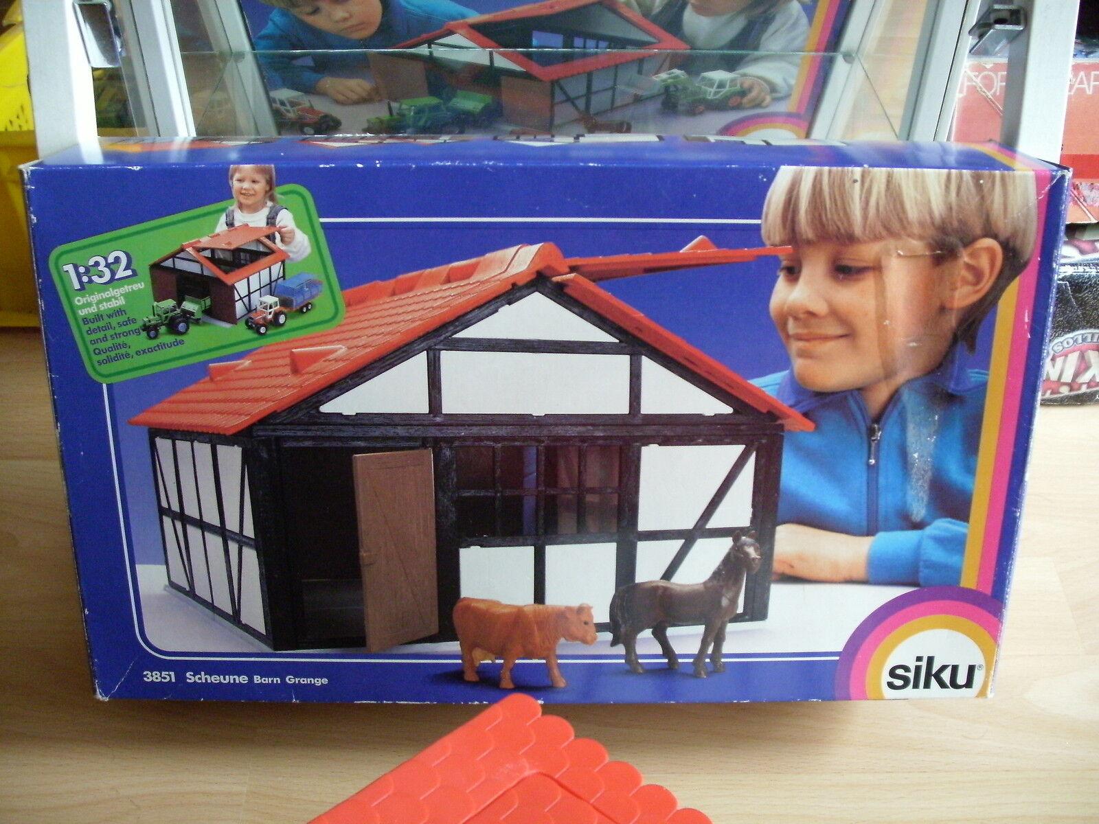 Siku Scheune   Barn   Garage in Box (siku nr  3851)