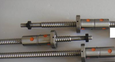 1 DFU2505 Ball screw 1600mm with a Double ballnut