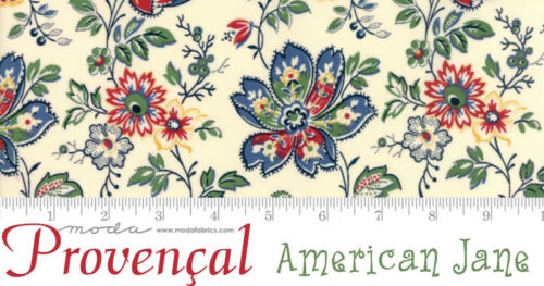 Moda PROVENCAL 21732 12 RED Floral AMERICAN JANE Quilt Fabric French