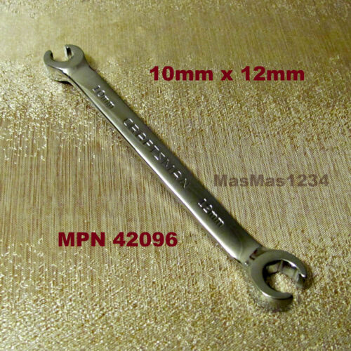 CRAFTSMAN Full Polish Flare Nut Wrenches MM SAE Buyer to Choose NEW