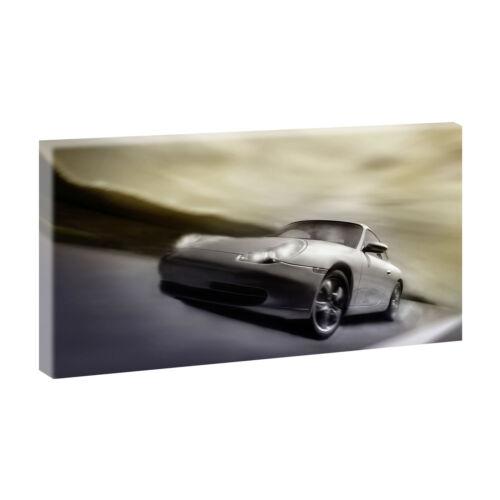 Porsche 911 de haute qualité art pression Poster La Fresque toile 40 cm-80 cm 02