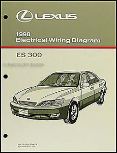 1998 lexus es 300 wiring diagram manual 98 es300 electrical 1998 Oldsmobile Bravada Wiring Diagram image is loading 1998 lexus es 300 wiring diagram manual 98