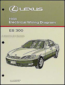 1998 Lexus ES 300 Wiring Diagram Manual 98 ES300 ...