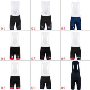 Team-Homme-Cuissard-Cyclisme-3D-Pad-equitation-Velo-Collants-pantalon-court-Bike-wear