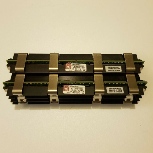 Kingston KTA-MP667AK2/2G (1 GB, PC2-5300 (DDR2-667), DDR2 RAM, 667 MHz, FB-DIMM)