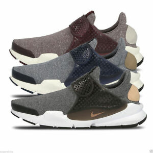b2314abe861a3c Nike Women s Sock Dart SE Canvas Trainers Gym Running Black Maroon ...