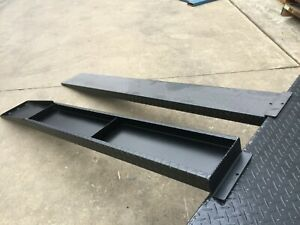 UNIVERSAL-LOADING-RAMPS-FOR-TANDEM-AXLE-CAR-BOX-BIKE-TRAILER-SUIT-12FT-14FT-16FT