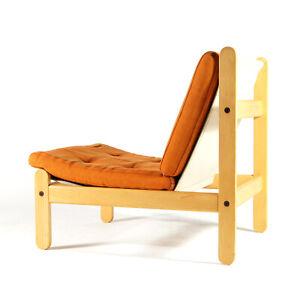 Retro-Vintage-Danish-Design-Wool-Easy-Chair-Armchair-60s-70s-Mid-Century-Beech