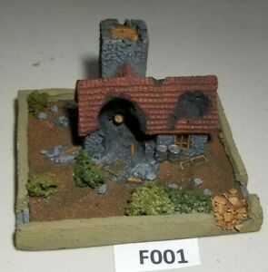 Flames-of-War-Ruined-Farm-House-15mm-Basic-Paint