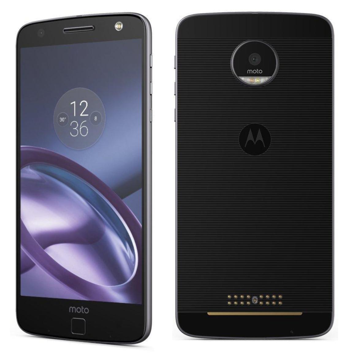 Motorola Moto Z Force Droid XT-1650M - Verizon Unlocked 4G Smartphone Black 1