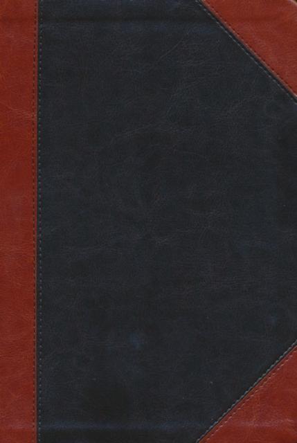 NKJV Large Print Ultraslim Reference Bible, Leathersoft Earth-Brown/Auburn Index