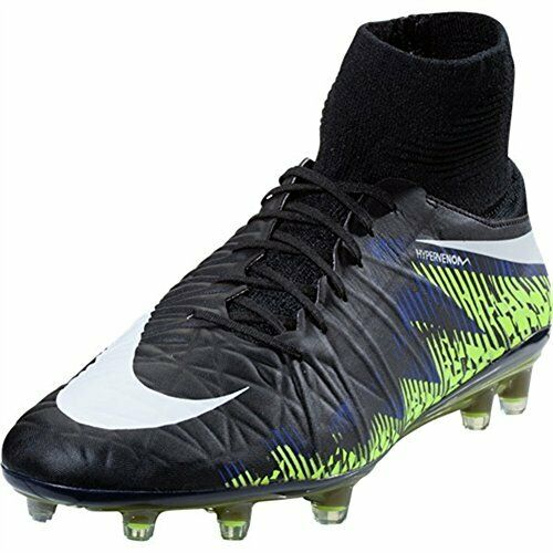 Nike Men's Hypervenom Phatal FG Men's US 10, Black Paramount blueee, 742214-017